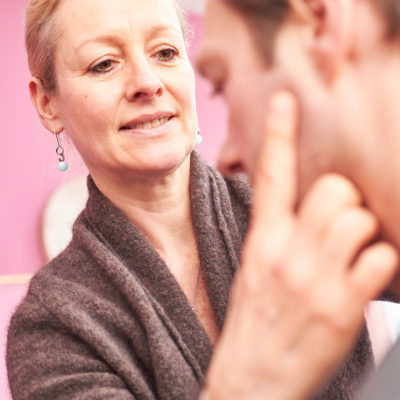 Bild einer Behandlung