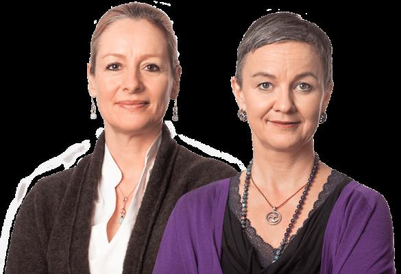 Tina Wiechmann und Susanne Breuel, Logopädinnen in Hannover